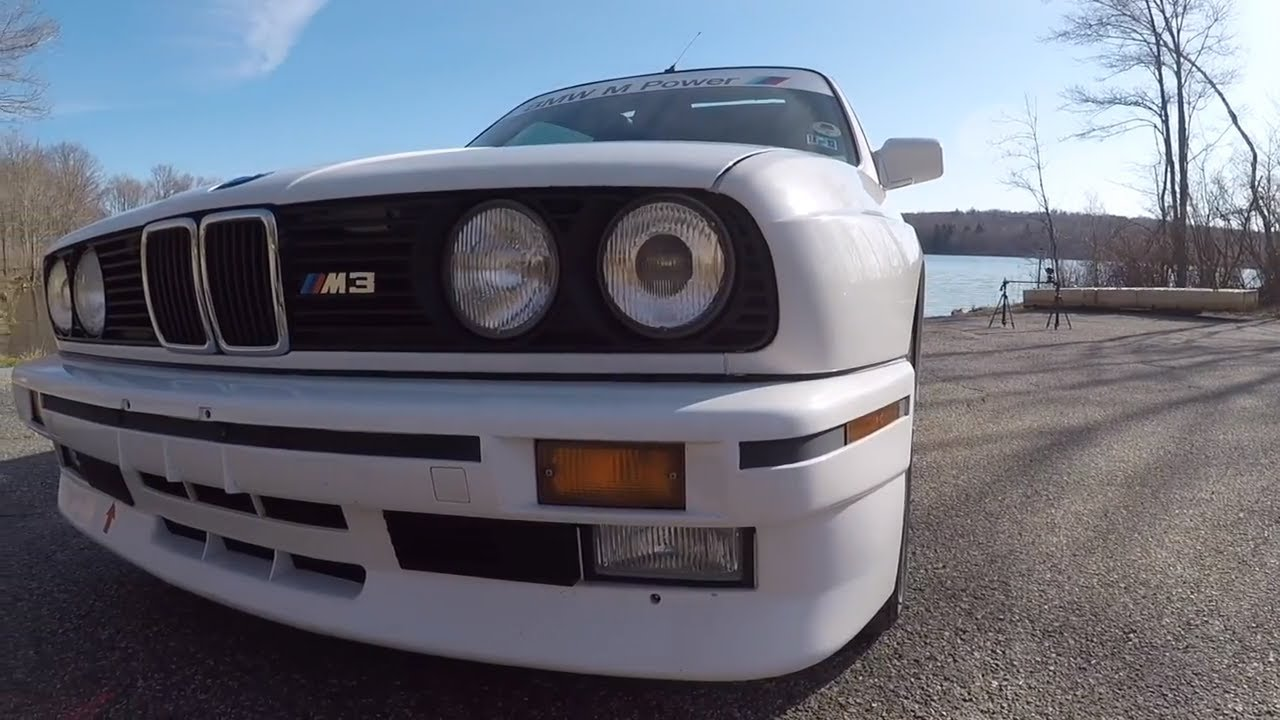 First Drive 1988 Bmw E30 M3 Unreal Experience