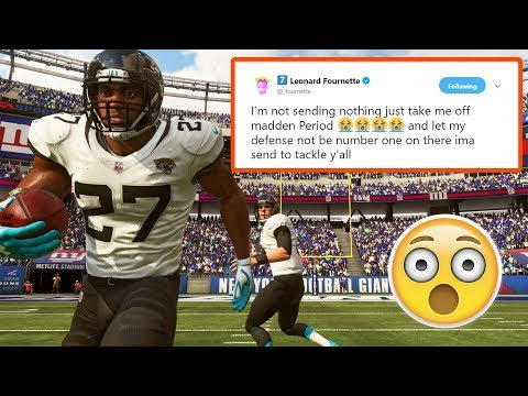 Leonard Fournette Doesn T Want To Be In Madden 19 Youtube