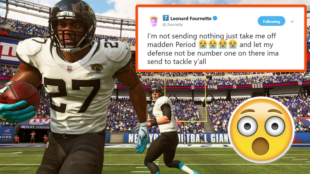 Leonard Fournette Doesn't Want To Be In Madden 19?!