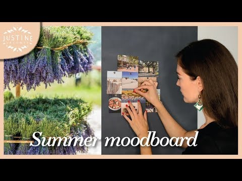 Summer in Provence | Moodboard with sounds | Justine Leconte