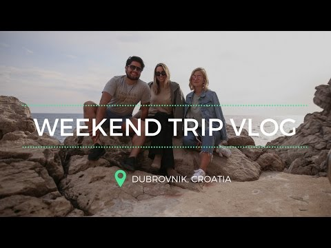 A WEEKEND IN DUBROVNIK, CROATIA - TRAVEL VLOG I KAJA-MARIE