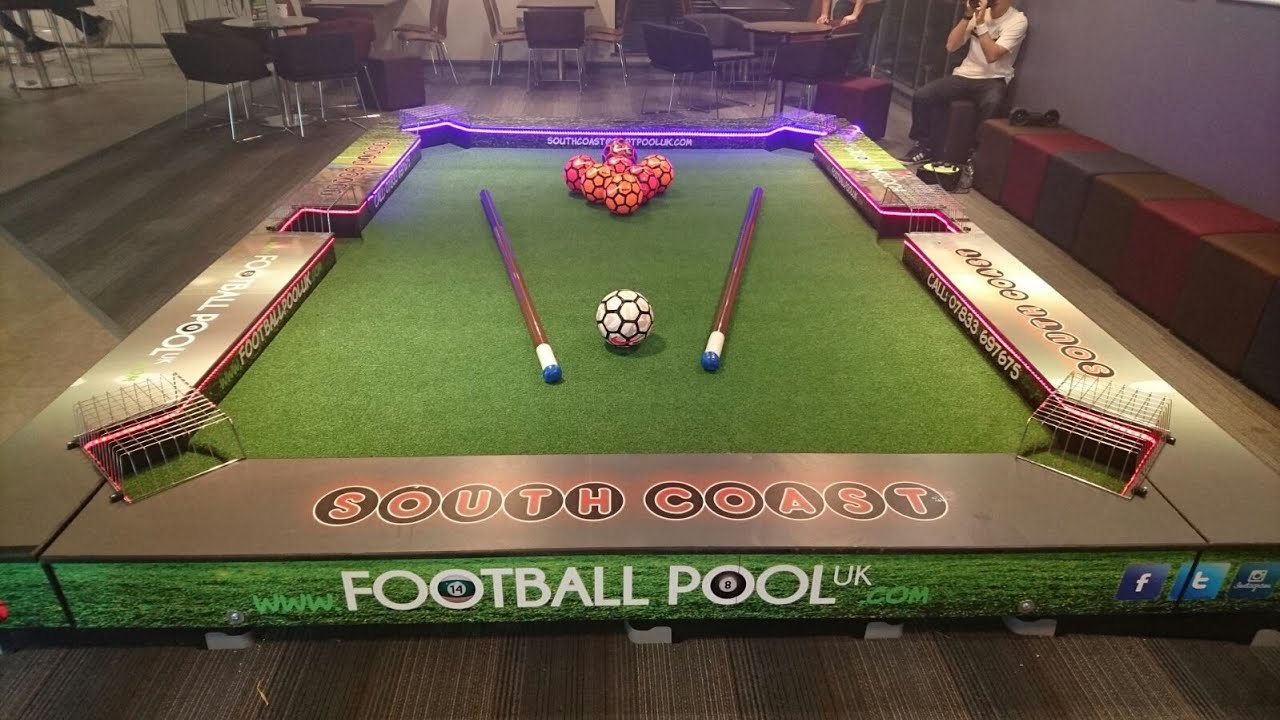 Football Pool Table Hire For Events In The UK YouTube - Outdoor pool table rental