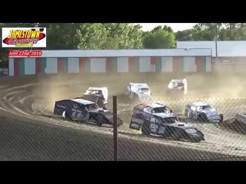 Jamestown Speedway IMCA Modified Heats (6/22/19)