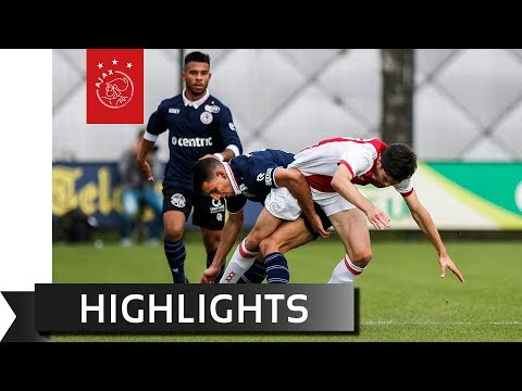 Highlights Ajax O19 - Sparta Rotterdam O19