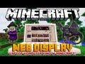 KOMPUTER, LAPTOP, KINO W MINECRAFT! - Minecraft Mody - Web Display Mod!