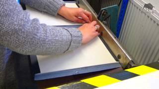 Menu Cover Production - Carrick Leather Goods Ltd.