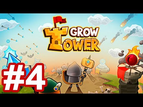 Grow Tower: Castle Defender TD Android/iOS Gameplay Walkthrough Part 4
