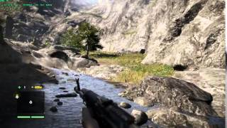 Far Cry 4 on ASUS X550ZE (A10 7400P, R5 M230+R6, 4GB RAM)