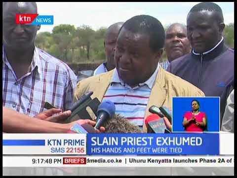 Catholic priest Michael Kyengo killed and body buried