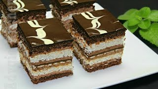 Prajitura de vis cu nuca si ciocolata Adygio Kitchen