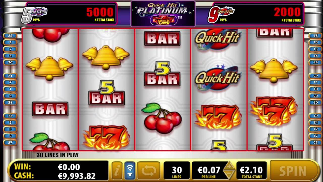 Free Slots Quick Hit Platinum