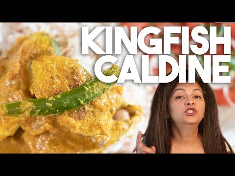 Kingfish Caldine Caldeen Caldinho | Goan Style Mild Fish Curry | Kravings