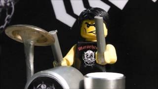 Ace Of Spades Motörhead - Lego - HD