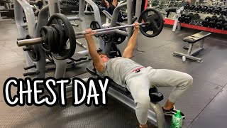 FIRST PUSH DAY!! NEW WORKOUT SPLIT