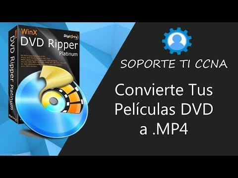 WinX DVD Ripper Platinum Full Español - Rippea Tus DVDs Facilmente
