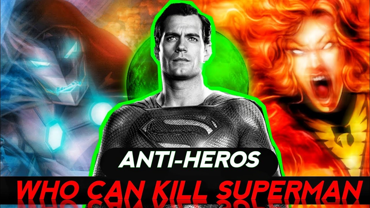 Antiheros who can beat Superman Explained in Hindi (SUPERBATTLE)