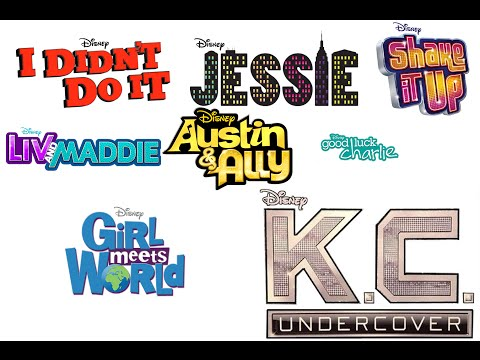 Disney Channel Canciones Completas - INTROS 2010 - Julio 2015 (Ingles)