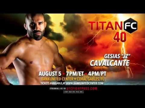 "TITAN FC 40 - Gesias ""JZ"" Cavalcante Highlight Reel"