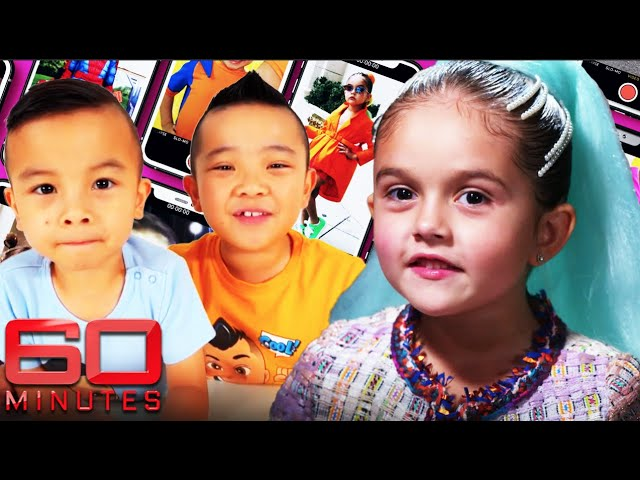 The world of kid influencers\: social media sensations at six-years-old! | 60 Minutes Australia