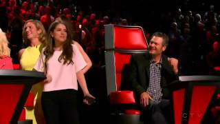 Anna Kendrick, Brittany Snow and Hailee Steinfeld on The Voice
