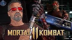 Mortal Kombat 11 Online - INSANE 500 DAMAGE TERMINATOR COMBO!