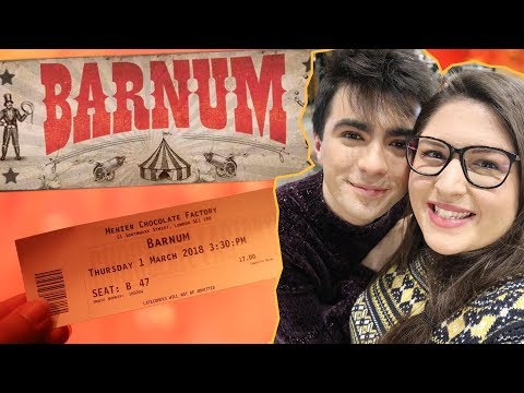 Taking Shaun to See BARNUM (Menier Chocolate Factory) 🤹♂️