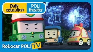 Daily education | Poli theater | Lightning is scary!