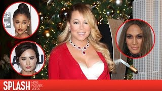 Mariah Carey Throws Shade at Ariana Grande, Demi Lovato and Jennifer Lopez