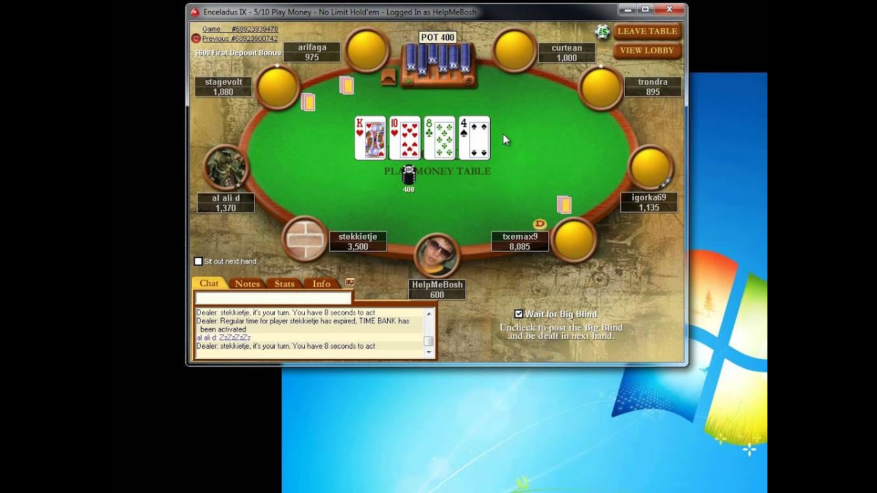 онлайн покер на фантики