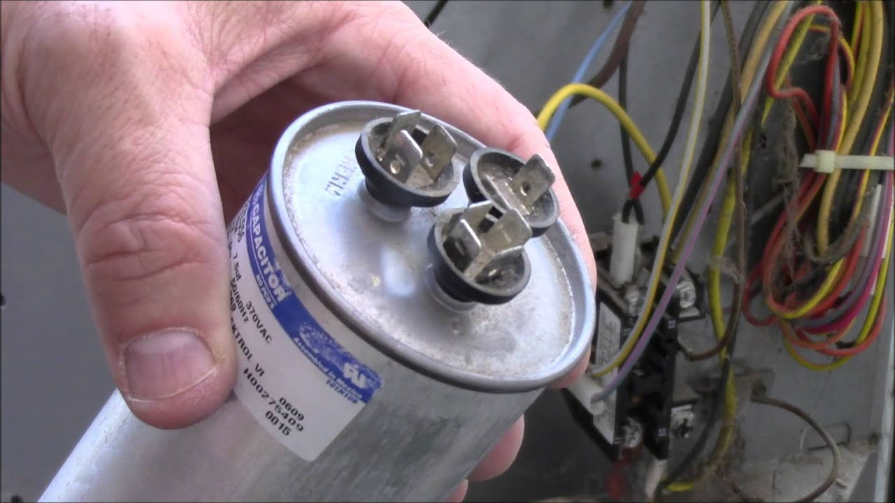 Image gallery hvac capacitor for How to test a motor start capacitor