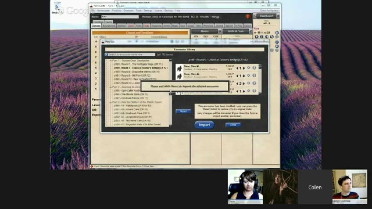 Online GM Workshop: The Complete Pathfinder Experience