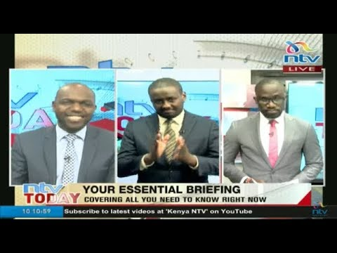 Watch all the day's news update now on #NTVToday with Larry Madowo