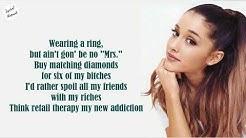 Ariana Grande - 7 rings   Lyrics
