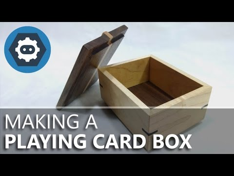 Making a Playing Card Box from Maple & Walnut