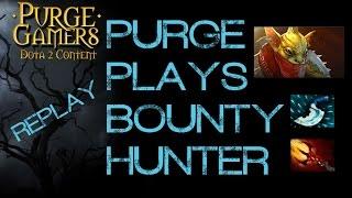 Dota 2 Purge plays Bounty Hunter