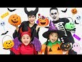 Gambar cover Suri & Annie Pretend Play Halloween Trick Or Treat for Candy