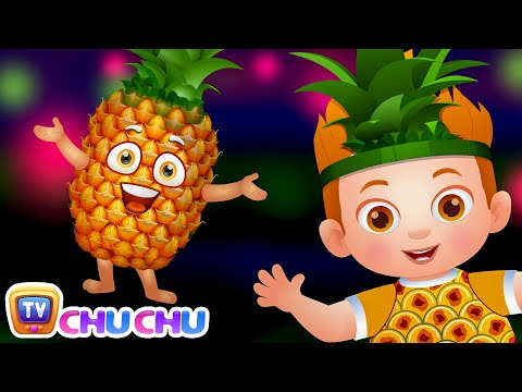 Pineapple  SINGLE  Learn Fruits  Original Learning  & Nursery Rhymes  ChuChu TV Kids