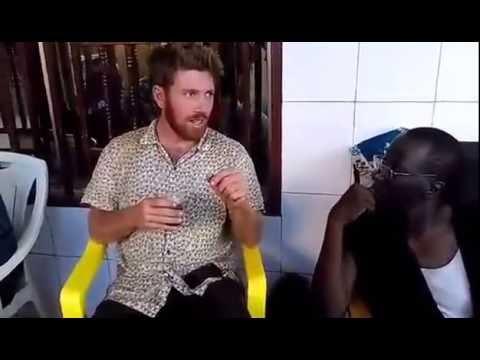 Speaking Jaxanké in Touba, Guinea