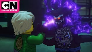 Ninjago | Lloyd and Lord Garmadon's Epic Battle | Cartoon Network
