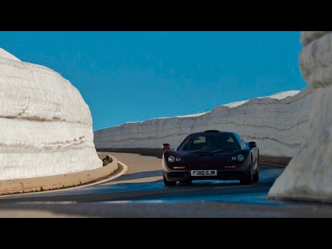 Taking A McLaren F1 To The Snow!
