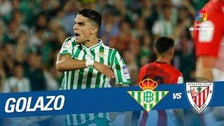 Golazo de Bartra (1-2) Real Betis vs Athletic Club