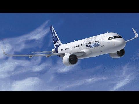 Airbus a320, самолет Аэробус a320