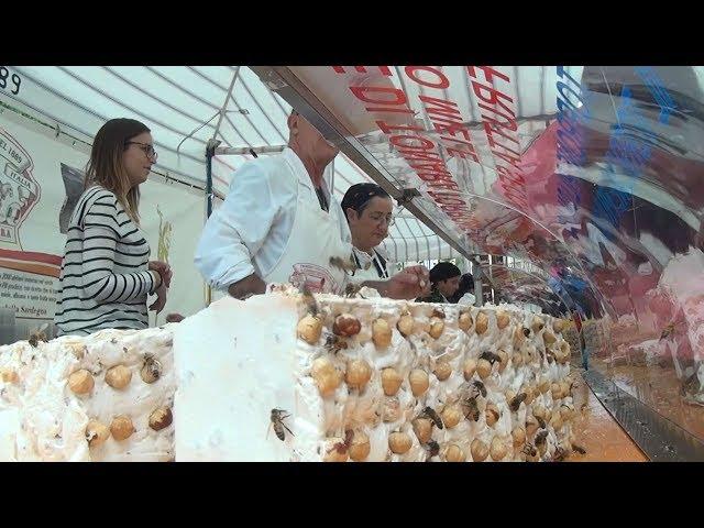 Fiesta Otono en Barbagia Tonara Cerdeña