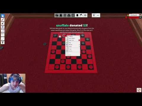 TYLER1 PLAYS TABLETOP SIMULATOR WITH GREEKGODX [VOD: Feb 1, 2017]
