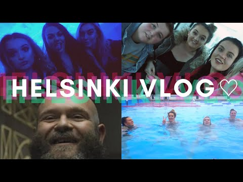 Girls Holiday in Helsinki - Vlog♡ Allas Outdoor Pools/Clubbing/Makeup Forever Academy| Lucygmakeupx