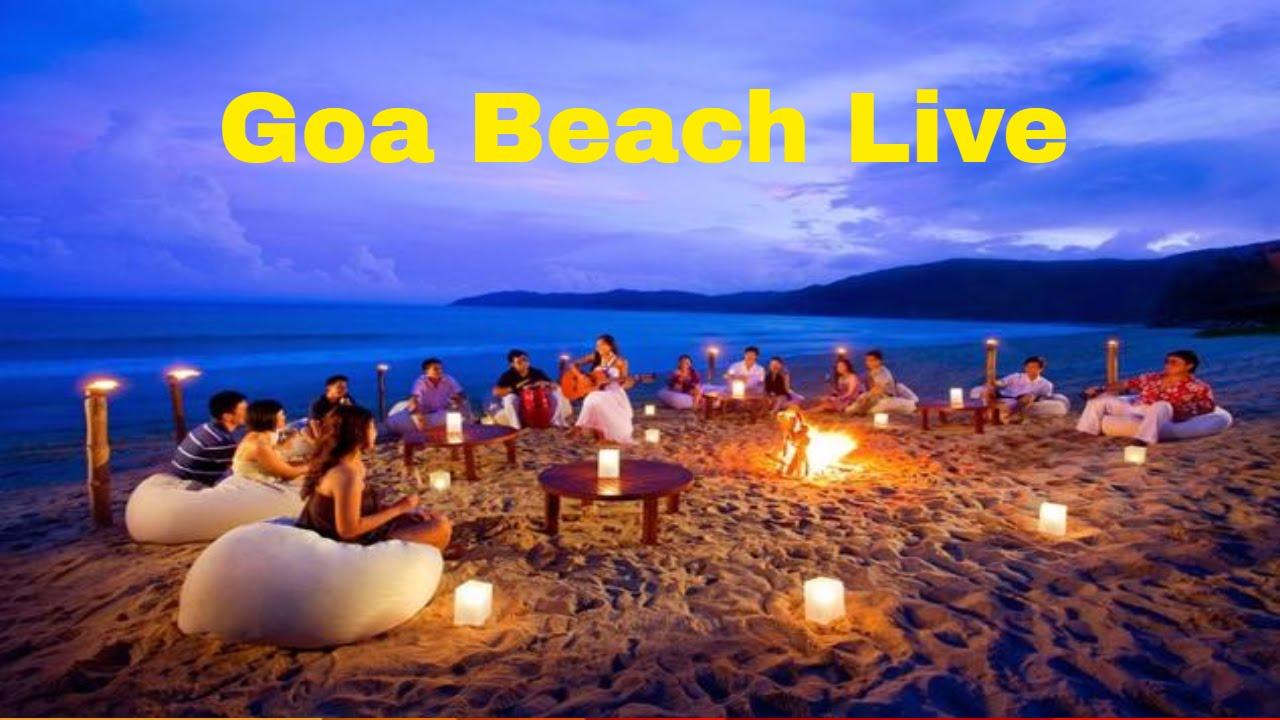 Goa Baga Beach live Video India - YouTube