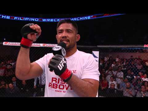 Fight Night Manila: Mark Munoz Octagon Interview