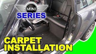 Carpet And Seat Installation R56 Mini Cooper
