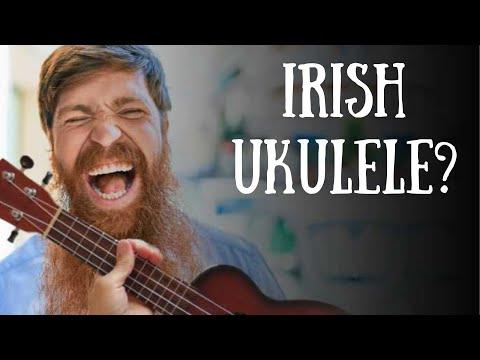Sweeney's Buttermilk Irish Campanella Ukulele