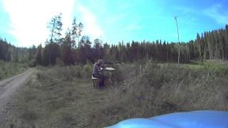 Target testing Sako Vixen .222 varmint Archangel Sniper
